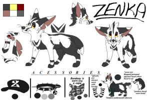 Updated Zenka Reference by dRaWiNgWiThHeArT