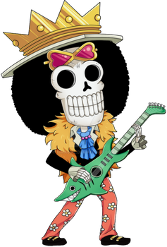 Brook ChiBi - One Piece - by Timagirl