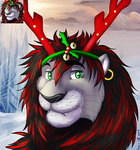 commission icon Christmas #13 Karmakat by HavickArt