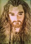 Thorin Oakenshield by Helenfee