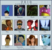 2010 Summary of Art by Silvre