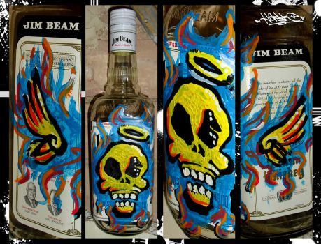Skull Bourbon by xHaStexo