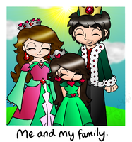 Me and my family... by Peach-X-Yoshi
