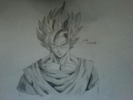 Super Saiyan Goku by fakhri821999