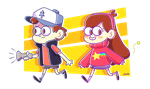 gravity falls by junawashere