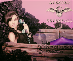 A7X And Demi by LovaticDeathbat