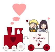 Naruhina train by gabzillaz