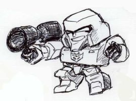 CHIBI Megatron by EmeraldBeacon