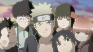 Naruto with Sora, Miina, Leo, Lando and Faz by TheBoar
