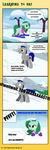First Skiing Lesson MLP by CuteyCreations