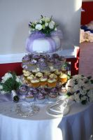 Wedding cupcakes by citruscouture