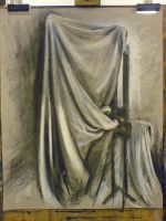 Cloth and Easel by Grwobert