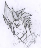 Themont face sketch by Mailus