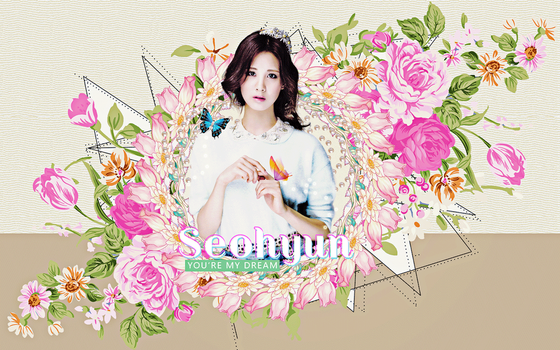 Seohyun-wall by beezep