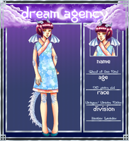 Dream-Agency Application: Chusi of the East by Shadowstar