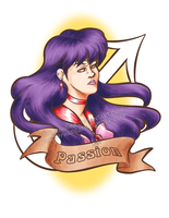 SMAM Day 3 - Sailor Mars by TwinEnigma