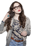 Elizabeth Gillies PNG by AiramPereez-editions