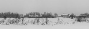 Winter outside my village by Ikabe