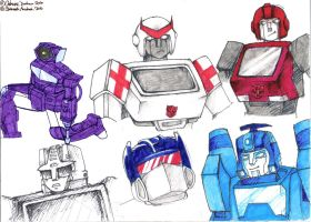 Page of Transformers by CatusSnake