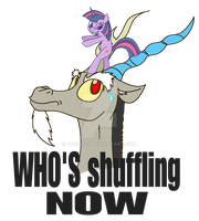 WHO IS SHUFFLING NOW by wasd999