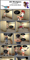 3D Wedgies-Locker Room by megayolk