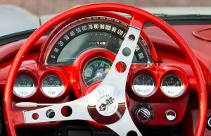 Red Corvette - Dashboard by PedroHamers