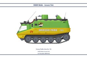 Fantasy 709 Shado Mobile Jurassic Park by WS-Clave