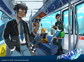 Commission: Persona Infinity by seiryuuden