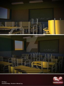 classroom by freestyle-art