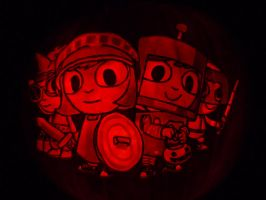 Costume Quest Pumpkin by ceemdee
