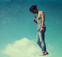 Walk on the cloud by VhPhoto