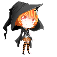 Offer to Adopt: Witch Girl (Closed) by ElyFelt