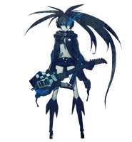 03-Black Rock Shooter by OzKagamine