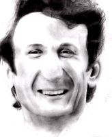Portrait Practice -- Sean Penn by clockblock