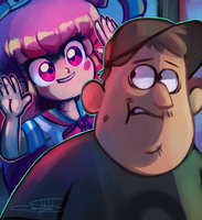 Soos and the Real Girl by CherryVioletS