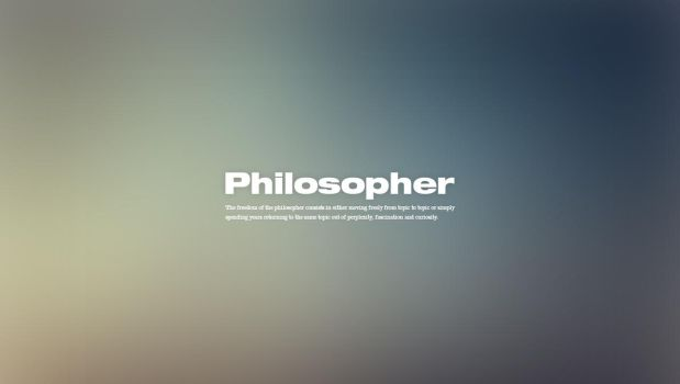 Philosopher by CodySymes