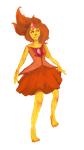 Flame Princess by unearthlyshadow