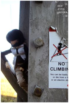 NO Climbing by Allexiell