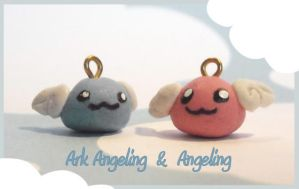 Angeling and Arkangeling by Blackash