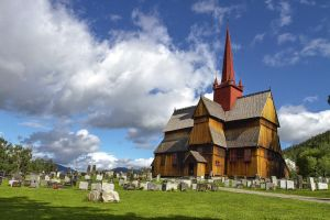 Norway Curch Stock by theKovah