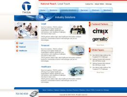 Industry Solutions inner page by artistsanju