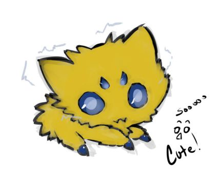 Joltik by AggressiveArtist