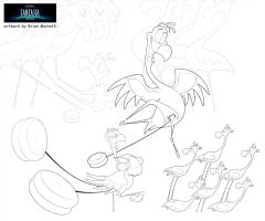 Carnival of the Animals from Fantasia 2000 by BrianMainolfi