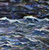 Waves with Left Hand by fly0away0