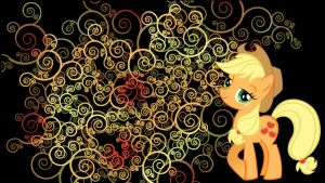 Applejack wallpaper by Coall