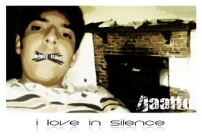 i love in silence by Jaaffo