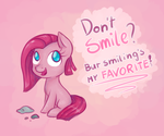 A Pink Smile by Reporter-Derpy