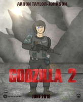 Godzilla 2 poster: Ford Brody by SonicGuy15