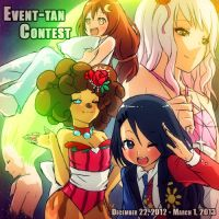 Event-Tan Contest Promotional Artwork by Mikeinel