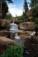 Stream in upper Sonora Pass by JForbes1701